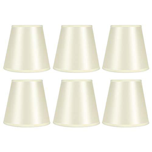 ROMACK Pantalla de lámpara, Bloque práctico a Largo Plazo La Pantalla de lámpara de Cilindro de luz para lámparas de Pared para el Modelo de Interfaz de Bombilla E14 para candelabros