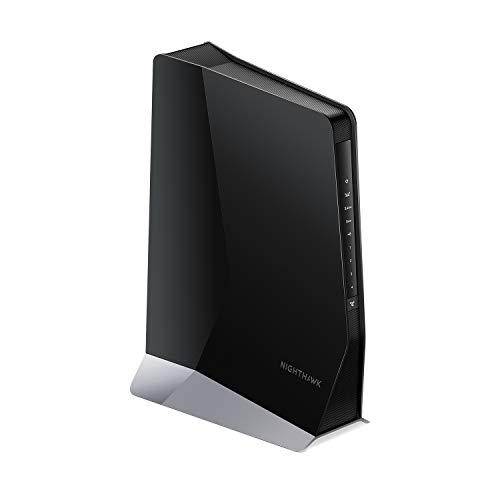 Netgear Nighthawk EAX80 WiFi 6 WLAN Mesh RepeaterAX6000 WLAN Verstaerker (Abdeckung bis 175m² & 30 Geräte, Super-Boost WiFi, Geschwindigkeit bis 6000MBit/s, Smart Roaming, universell kompatibel)