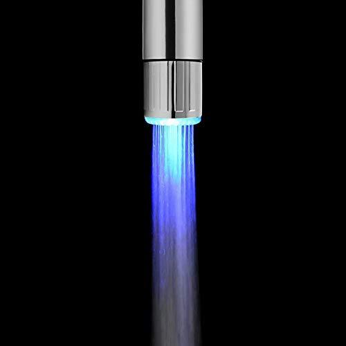Doyime LED lumière Embout Robinet Deau évier lavabo...