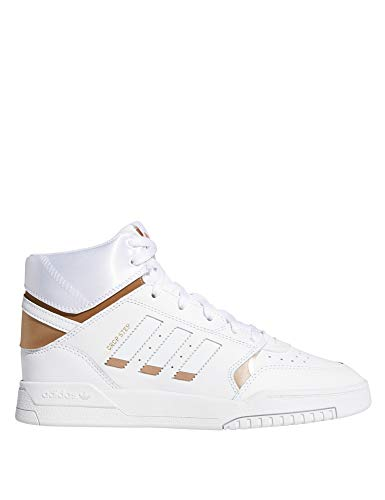 ADIDAS ORIGINALS DROP STEP W Sneakers femmes Wit/Goud Hoge sneakers