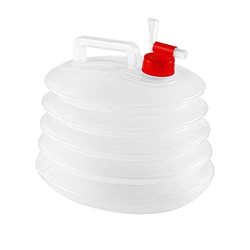 XYJNN Water Container|Deposito Agua| Bidones para Agua bidon de Agua con Grifo bidon Agua con Grifo contenedor de Agua con Grifo deposito Agua (Color : Clear, Size : 8L)
