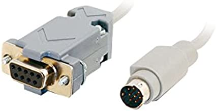 Cables to Go 25041 DB9 F/M Cable (6 Feet, Gray)