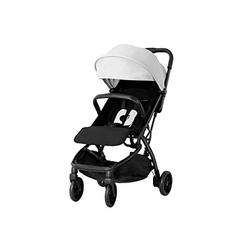 TOKUJN Cochecito liviano Plegable portátil para bebés, el Cochecito de bebé Compacto Plegable más pequeño para el Viaje de avión, Almacenamiento Compacto, Seguridad de 5...
