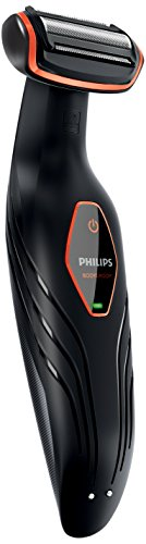 Philips BG2024/15 - Afeitadora corporal sin cable, 1 peine, 3 mm, color negro y...