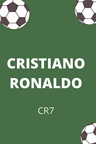 CRISTIANO RONALDO: CR7 | Juventus Superstar | Notebook, Journal, Diary, Organizer, Paperback (6 x 9, 100 Pages, Blank, Lined)
