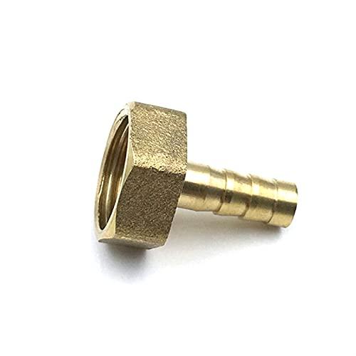 JGFJ Resistente al Desgaste y Duradero, Buen Sellado. 1pcs Accesorios de tubería de Agua de latón Accesorios de tuberia (Color : PCF, Size : 8mm Barb)