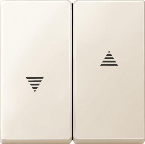 Merten 435544 Wippe für Rollladenschalter und -taster, weiß, System M