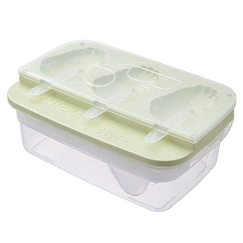 YGB Jouet Icetray Moules Cuisine Popsicle Moule Ensemble, Ice Cube Moule Boule Moule Sphère Silicone Ice Rounds Maker, Popsicle Maker, Ice Tray Moulds