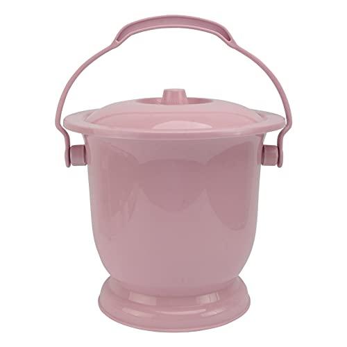 YARNOW Pot de Chambre des Enfants des Femmes Enceintes Femme Urine Seaux Adultes avec Couvercles des Pots D' Urine Urinoirs Crachoir Aîné Urinoirs Nuit Pot Rose