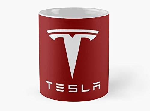 Lplpol Tesla Kaffee-/Teetasse, Standard-Kaffee-/Tee-Tasse, Kaffee-/Tee-Tasse, 325 ml, Premium-Qualität, bedruckte Kaffeetasse – einzigartige Geschenkideen für Freund/Kollegen/Liebste