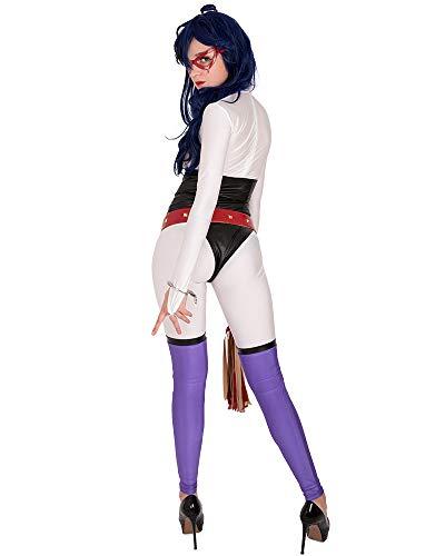 miccostumes Damen Midnight Nemuri Kayama Cosplay Kostüm Outfit -  Weiß -  Medium