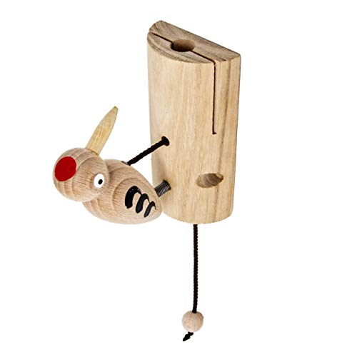 Woudi® Specht Türschild Türspecht Kinderzimmer Spielturm Spielhaus Baumhaus Glocke Klingel Schülerspecht