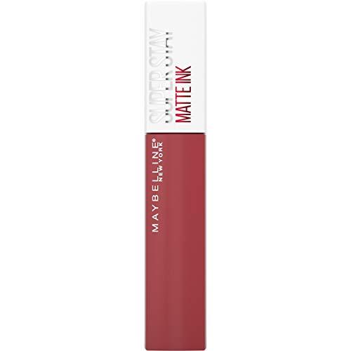 Maybelline New York Lippenstift, Super Stay Matte Ink, Flüssig, matt und langanhaltend, Nr. 170...