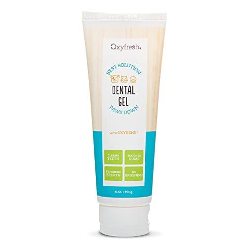Oxyfresh Premium Dog Toothpaste | Soothing Pet Dental Gel for Tartar Control,...