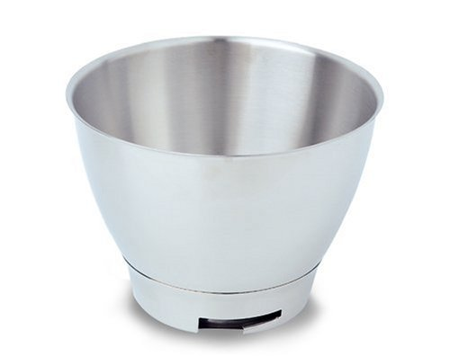 Kenwood 34654 Edelstahlschüssel (4 Liter) Arbeitsschüssel Edelstahl