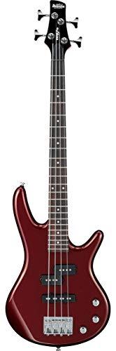 IBANEZ GIO miKro - Bajo eléctrico (4 cuerdas, escala corta), color rojo