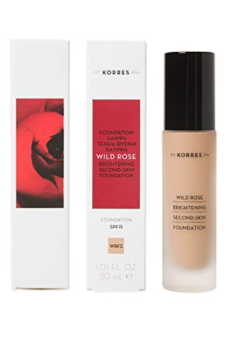 Korres WILD ROSE Foundation - WRF3, 1er Pack (1 x 30 ml)