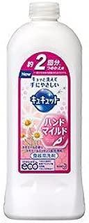 花王 キュキュット ハンドマイルド カモミールの香り つめかえ用 370ml Japan