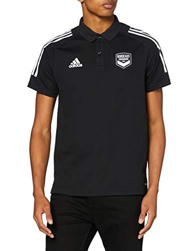 adidas FCGB Polo, Hombre, Negro, ST
