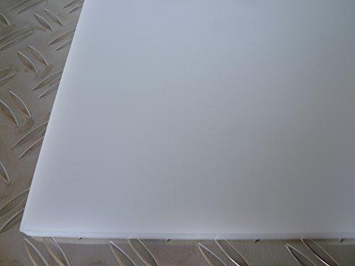B&T Metall POM C Natur/Weiß Platten 30,0 mm stark Polyoxymethylen (ERTACETAL®; DELRIN®) im Zuschnitt Größe 100 x 150 mm