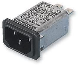 SCHAFFNER FN9222SR-15-06 INLET FILTER, IEC, 15A, 373UA (1 piece)