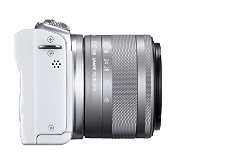Canon EOS M200 Kit Bianco + EF-M 15-45 IS STM
