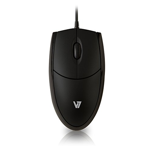 V7 MV3000010-BLK-5E V7 Optische LED USB Maus - schwarz