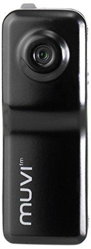 Veho Muvi Micro Camcorder   Vivavoce   Corpo Indossato   Action Camera   Scheda microSD da 4 GB - Nero (VCC-003-MUVI-PRO)