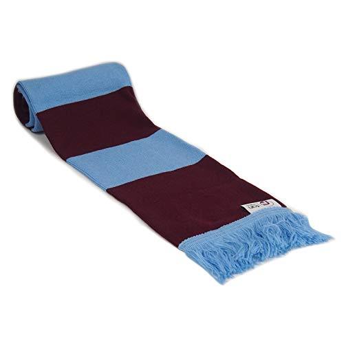 fan originals Classic Football Bar Scarf in Aston Villa Colours