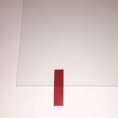 Planchas de Metacrilato, Plástico PMMA, Plexiglás, Láminas de Vidrio Acrílico, Transparente. Corte a Medida: (Grosor 3mm, A4 - Pack 10 uds)