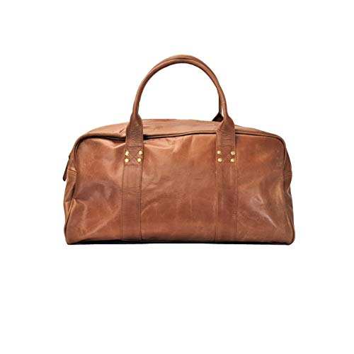 Leather Duffle Bag, holdall Men's Leather, Weekend, Travel, Gym, overnight duffel bag, Men Gift