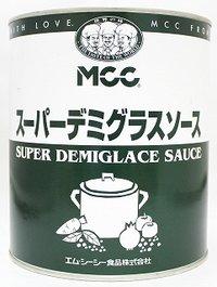 MCC 業務用スーパーデミグラスソース 1号缶 3kg
