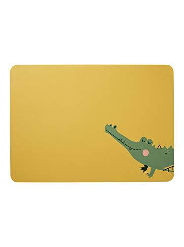 ASA - Kids - Tischset - Croco Krokodil - 46 x 33 cm - Kunstleder