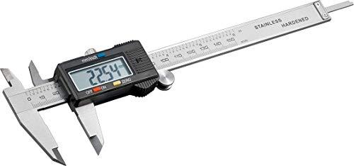 Fixpoint 77001 Pied à Coulisse Numérique, 150mm Longueur