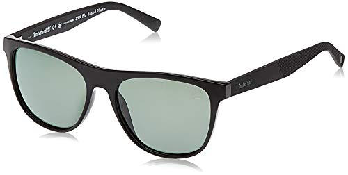 Timberland TB9124 01R 56 Monturas de gafas, Negro (Nero LucidoVerde Polar), Unisex Adulto