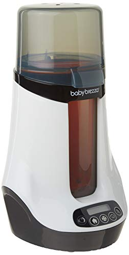 Baby Brezza BRZ00139 Safe Plus Smart Bottle Warmer, White