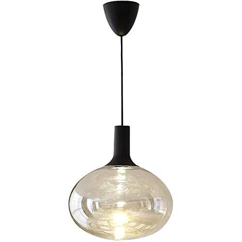 Techo nórdico Ronda creativa Araña Tienda de ropa ventana de la barra de la lámpara creativa de arte moderno de la lámpara LED de alto brillo Lámpara de cristal cadena de restaurantes ajustable de la