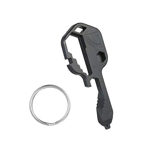 Topteng 24 in 1 Snowflake Multi Tool Bike Ski Multi Tool Key Shaped Pocket Tool EDC Snowflake WrenchFixing Bicycle