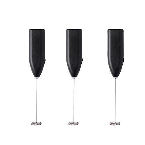 IKEA 3303.011.67Automatischer, elektrischer Milchaufschäumer, schwarz (1er Pack, schwarz) von IKEA