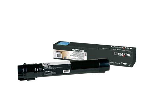 Lexmark X950X2KG X950, X952, X954 Tonerkartusche Extra Hohekapazität, schwarz