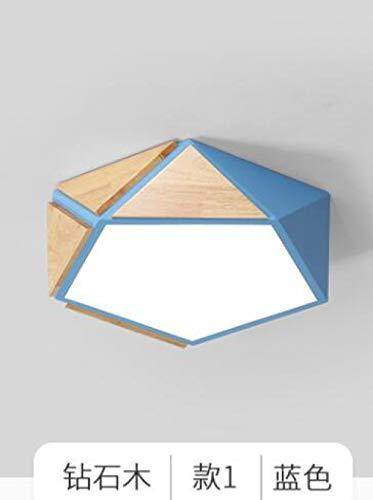 Plafondlamp Studio geometrische plafondlamp slaapkamer LED creatieve plafondlamp 52cm