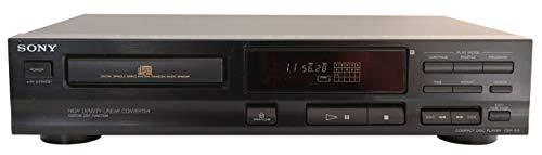 Sony CDP- 312 CD Spieler in schwarz