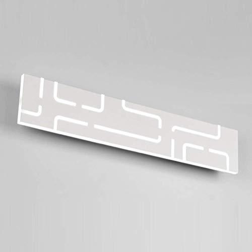 J&Z Lampe Murale LED Moderne Minimaliste allée Murale Lampe de Chevet lumière de la Technologie créative Sconce, Blanc, 40 [Classe d'énergie A],Warm,40