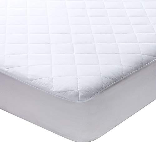 mattress protectors Milddreams Full Mattress Pad Cover - Bed Pad Size (54x75 inches + 16