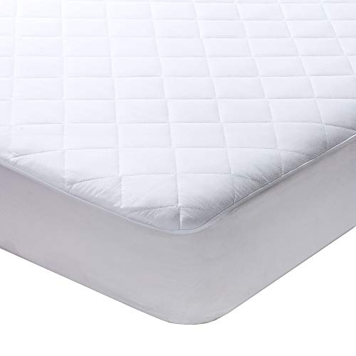 """Milddreams Full Mattress Pad Cover Protector - Bed Pad Size (54x75 inches + 16"""" Deep Pocket) - Quilted Fitted Sheet"""