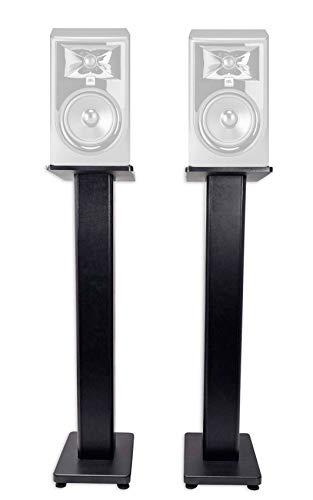 "(2) Rockville 28"" Studio Monitor Speaker Stands For JBL 308P MKII Monitors"