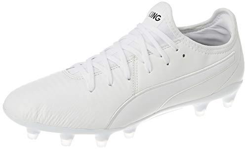 PUMA King Pro FG, Zapatillas de Fútbol Unisex Adulto, Blanco White White White, 40 EU