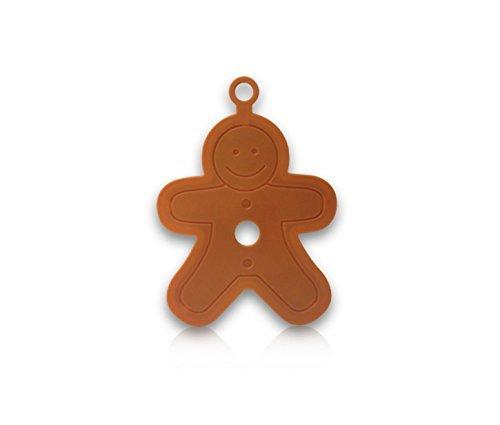 Gingerbread Man Cookie Cutter - Cookie Cutter Molds - Gingerbread Boy Cookie Cutter - Comfort Grip Cookie Cutter 4.7 Inches - Large Gingerbread Man Cookie Cutter - Gingerbread Men Cookie Cutter
