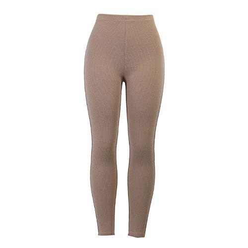GenericBrands Mujer Yoga de Alta Cintura Elásticos y Transpirables Mallas Pantalones Deportivos Leggings para Yoga Running Fitness con Gran Elásticos