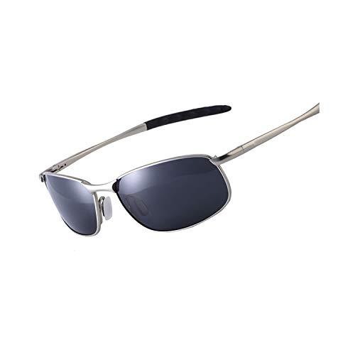 Gafas Deportivas, Pesca Gafas De Golf, NEW Polarized Sunglasses Men Brand Designer Small Lens Sunglass Men's Driving Sun Glasses Gafas Oculos De Sol UV400 Polarized lens gun black